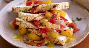 Grilled-Paneer-Cheese-with-Mango-Tomato-Chutney-and-Curry-Vinaigrette_Recipes_1007x545